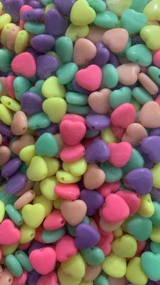 100 Pasantes De Corazón Para Artesanías. Hermosos! Oferta