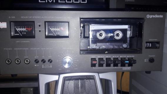 Tape Deck Gradiente S125 Original Promoção 450 Reais