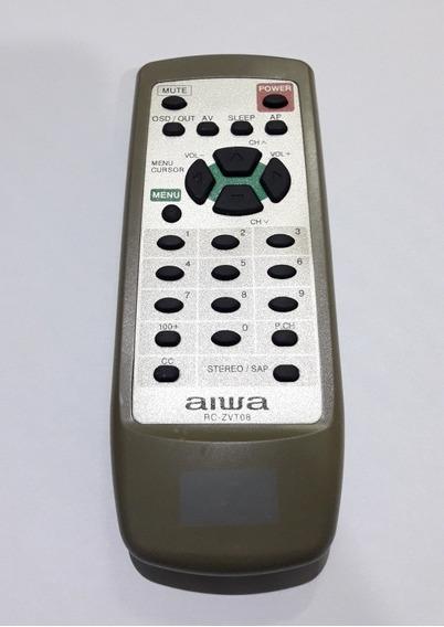 Controle Remoto Tv Aiwa Rc-zvt08 Orginal