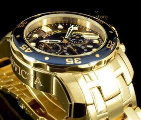 Relógio Masculino Invicta Pro Diver 0073 Chronograph 18k