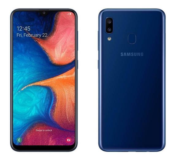 Celular Samsung Galaxy A20 Blue