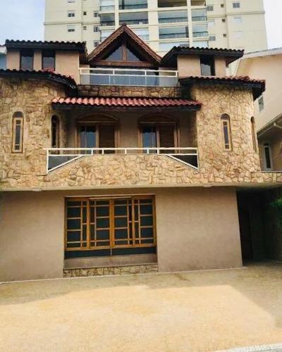 Imagem 1 de 30 de Casa Com 4 Dormitórios, 450 M² - Venda Por R$ 2.000.000,00 Ou Aluguel Por R$ 7.000,15/mês - Vila Rosália - Guarulhos/sp - Ca0305