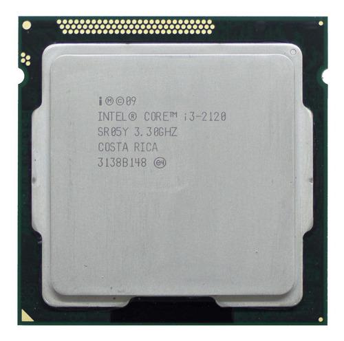 Processador gamer Intel Core i3-2120 BX80623I32120 de 2 núcleos e 3.3GHz de frequência com gráfica integrada