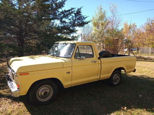 Ford F-100 Ford F 100 Deluxe