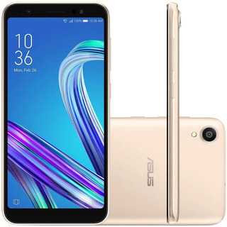 Celular Asus Zenfone Live L1 Dourado Rose 32gb Camera 13mp