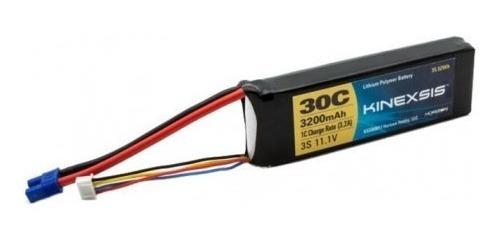 Bateria Kinexsis 3200mah 3s Li-po 11.1v Com Conector Ec3