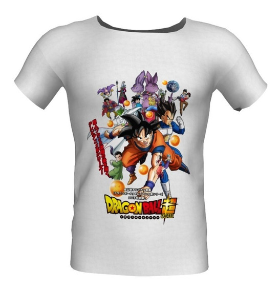Playeras De Dragon Ball Super Dbs-0002 Niños