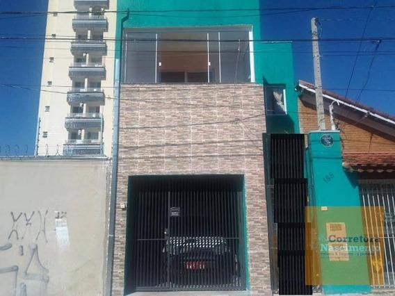 Sobrado Com 1 Dormitório À Venda, 232 M² Por R$ 460.000,00 - Centro - Jacareí/sp - So0438