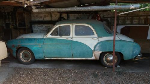 Barbada Renault Frégate Modelo Muito Raro  1956