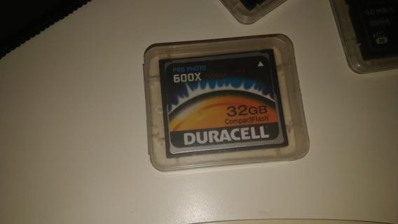 Cartão Cf Compact Flash 32gb 90mbs