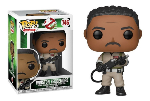 Funko Pop Winston Zeddemore #746 Ghostbusters Jugueterialeon
