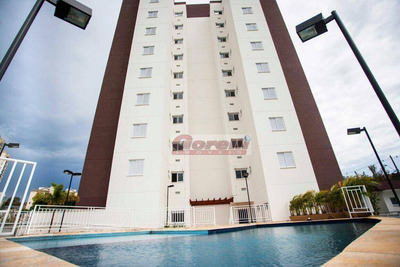 Apartamento Com 3 Dormitórios À Venda, 68 M² Por R$ 450.000 - Portão - Arujá/sp - Ap0439