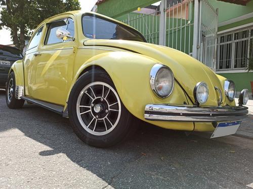 Volkswagen Fusca 1.300l Ano 1977 - Amarelo Java