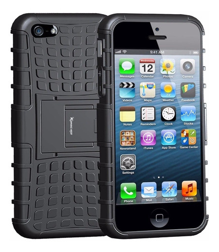 Estuche Forro Armadura Apple iPhone 5 5s 5se Militar Protect