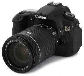 Câmera Canon 60d+lentes Canon 18-135+50mm+carregador Canon