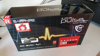 Sapphire Radeon Pulse Rx 570 4gb Gddr5 Dual Hdmi / Dual Dp.