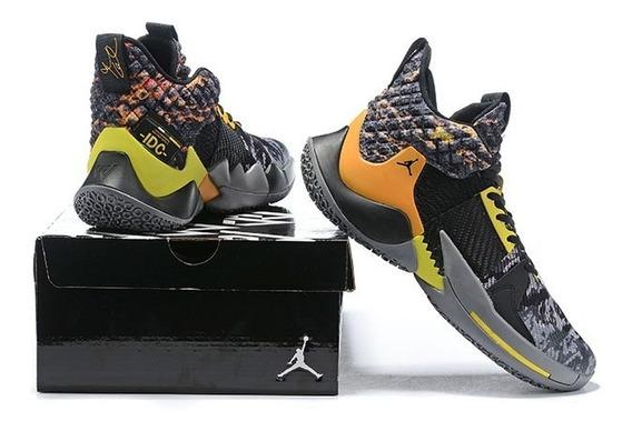 Tenis Nike Jordan Why Not 0.2 Na Caixa Varias Cores 34 Ao 44