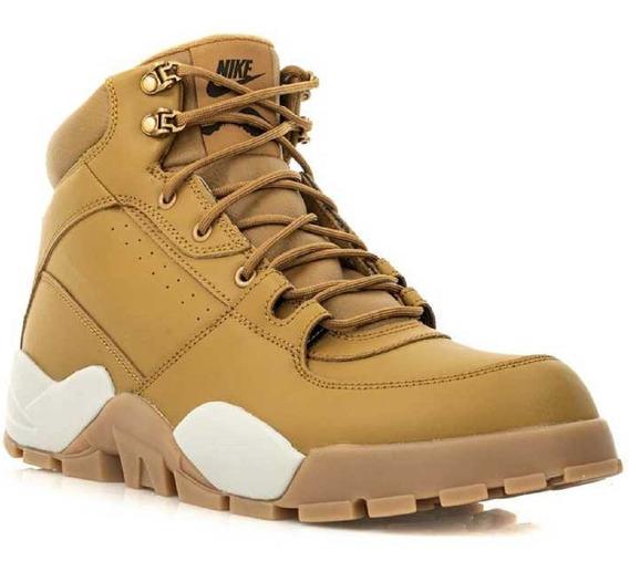 Mens Original Nike Rhyodomo Botas Caminata Color Miel Dña