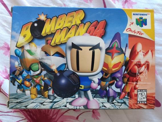 Cartucho Nintendo 64 N64 - Bomberman 64 - Bomber Man 64