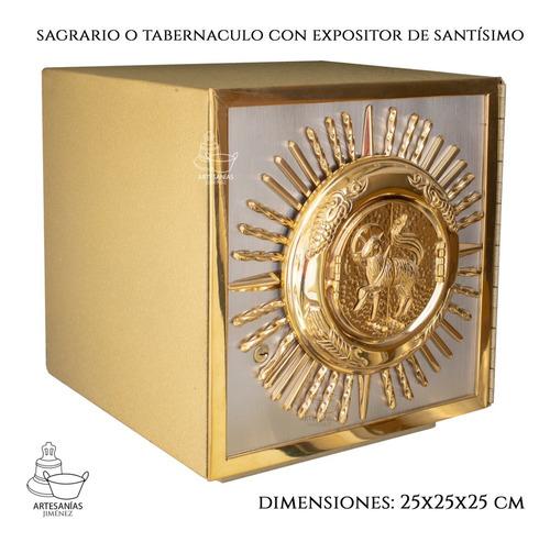 Sagrario Con Expositor De Santísimo Cordero De Dios