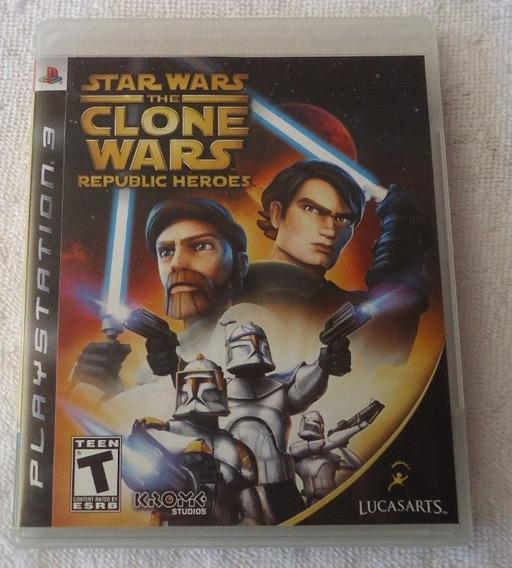 Star Wars The Clone Wars Ps3 ** Frete Gratis Leia