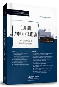 Coleção Tribunais E Mpu - Direito Administrativo - Para Ana.