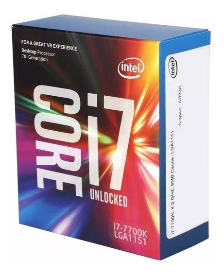 Proc Intel Core I7-7700 3.6ghz/4.20ghz-turbo/8 Mb Lga 1151