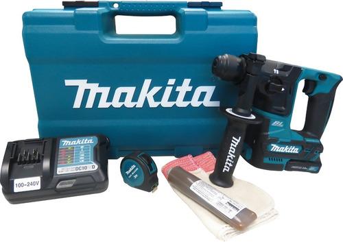 Martelete Rotativo A Bateria Makita Hr166dwax1 + Kit 61 Pçs