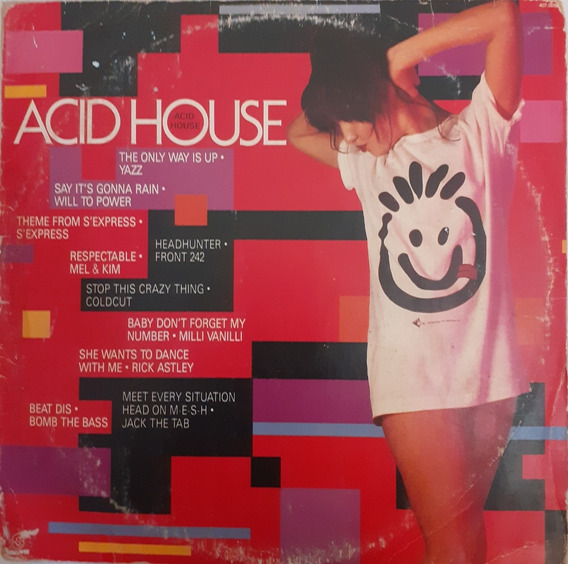 Lp Acid House [yazz Will To Power Front 242 Etc]