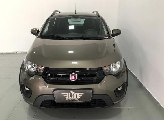Fiat - Mobi 1.0 Evo Way Flex 2017 Cinza