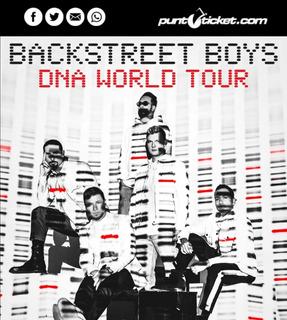 Entradas Backstreet Boys 4 Marzo Cancha General