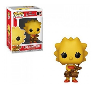 Funko Pop Television #497 Simpsons Lisa Simpson Nortoys