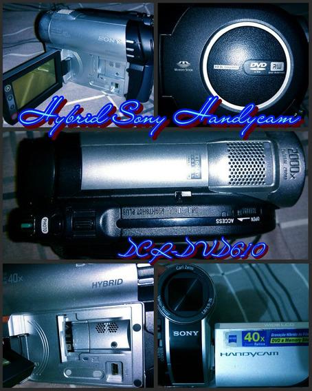Filmadora Sony Dcr-dvd610 Hybrid