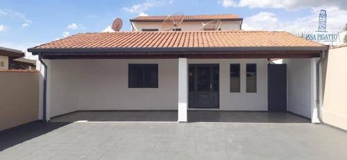 Imagem 1 de 23 de Casa À Venda, 254 M² Por R$ 640.000,00 - Vila Bressani - Paulínia/sp - Ca1109