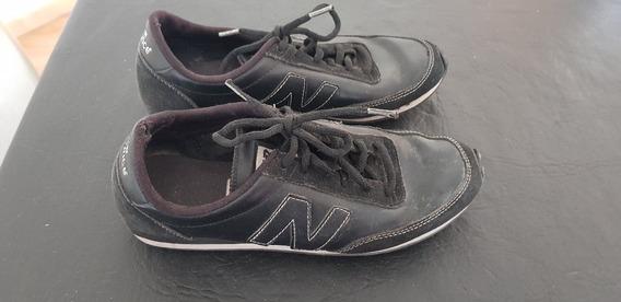 Zapatillas New Balance Cuero Chatas Talle 38