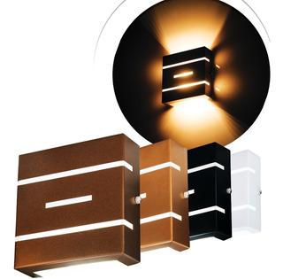 Arandela Frisada Slim 2 Focos Externa Flat Colorida Design