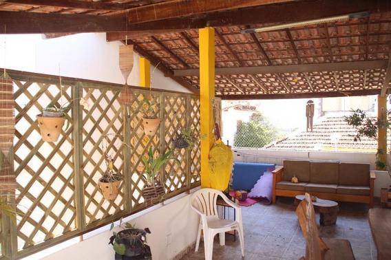 Casa Com 3 Dormitórios À Venda, 150 M² Por R$ 415.000 - Santa Rosa - Niterói/rj Ca0843 - Ca0843