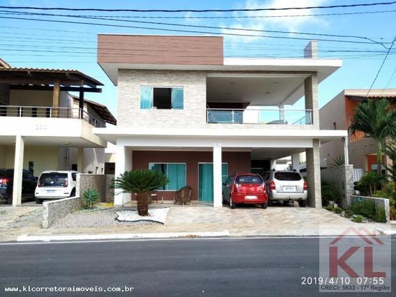 Casa Em Condomínio Para Venda Em Parnamirim, Parque Das Nações, 4 Dormitórios, 4 Suítes, 5 Banheiros, 3 Vagas - Kc 0240