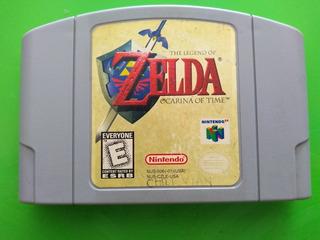 Videojuego Nintendo 64 Zelda Ocarina Original