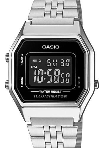 Relógio Casio Feminino Vintage Prata  La680wa-1bdf
