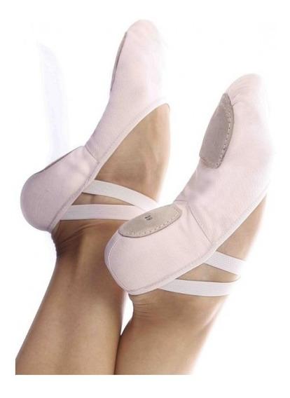 Sapatilha Meia Ponta Ballet Ballet Dança Strech Glove Foot