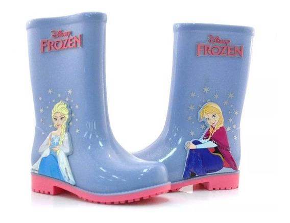 Botas De Lluvia Para Niñas Disney Frozen Fty Calzados