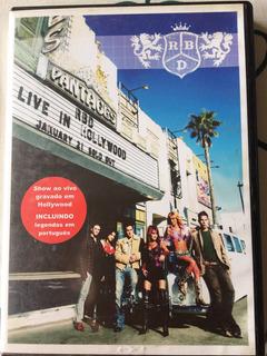 Dvd Rbd Live In Hollywood Original