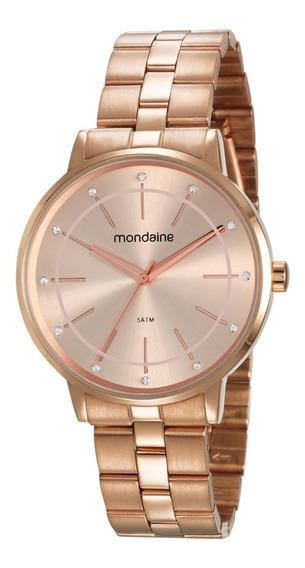 Relógio Mondaine Feminino Analógico Rosé 53749lpmvre2