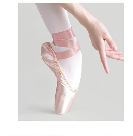 Zapatillas Zapato De Danza Puntas Para Ballet Clasico Unicos