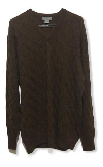 Sweater Pulover Daniel Cremieux 100% Alpaca Made In Peru