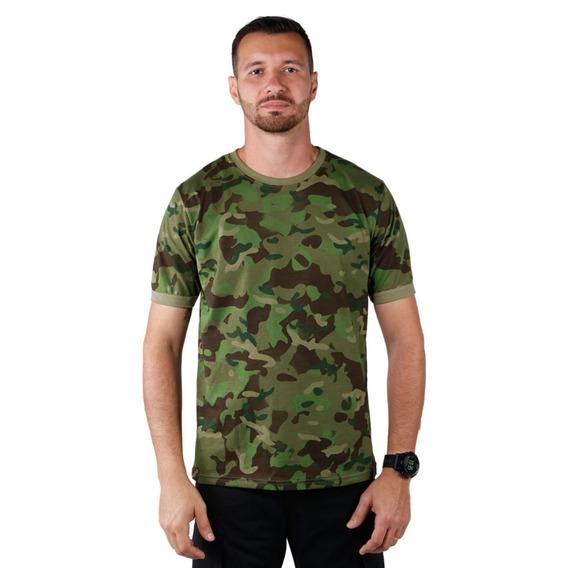 Kit 3 Camisetas Masculina Soldier Camuflada Tropic Bélica