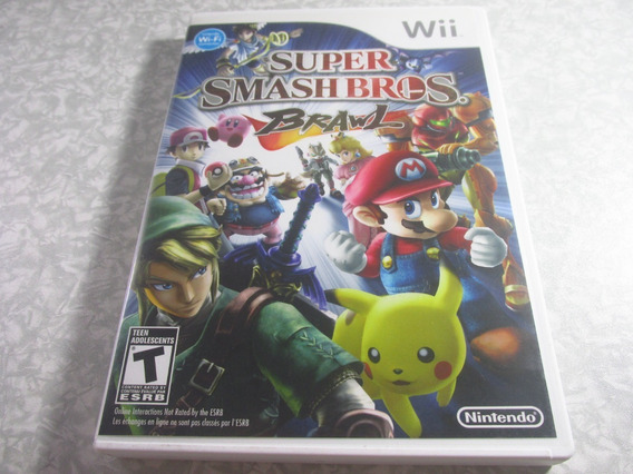 Wii - Super Smash Bros Brawl - Original