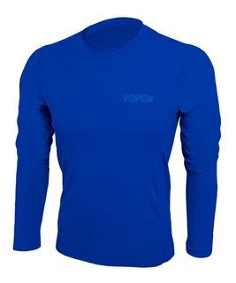 Camisa Blusa Proteçao Solar Uv50+ Pesca Peixe Vopen Full