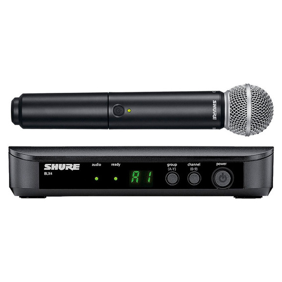 Microfone S/ Fio De Mão Shure Blx 24br Sm58